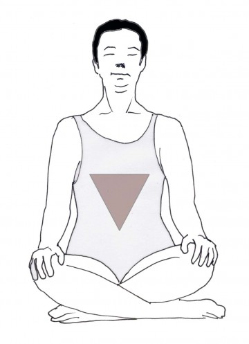 triangolo rosso
